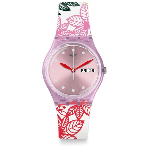 SWATCH Simmer Leaves GP702